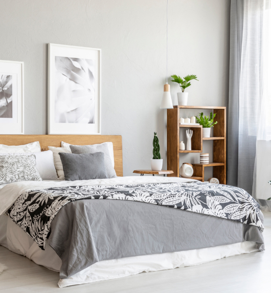 an apartment bedroom